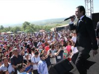 Havza'da Keşkek festivali