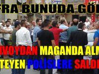 Düğün Konvoyu Polise Saldırdı
