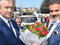 19 Mayıs İlçesinde Yoğun Katılımlı Bayramlaşma Töreni