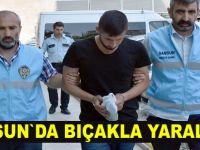 Samsun`da bıçakla yaralama iddiası