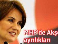 MHP'de Akşener ayrılıkları