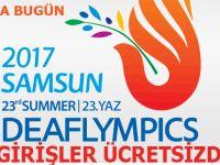Olimpiyatlarda Bafra'da Çarşamba günü