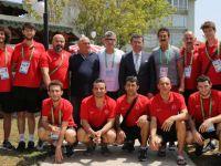 Başkan Taşcı'dan Milli Sporculara Moral Yemeği