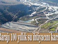 Dağköy Barajı 100 yıllık su ihtiyacını karşılayacak