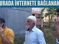 O köylüler İnternet istiyor