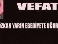 Necati Özkan yarın defin edilecek