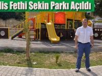 19 Mayıs İlçesi'nde Şehit Polis Fethi Sekin Parkı Tamamlandı