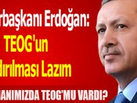Cumhurbaşkanı Erdoğan Biz TEOG'la mı Geldik?