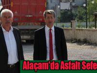 Alaçam'da Asfalt Seferberliği