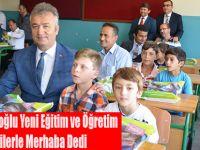 Başkan Topaloğlu Yeni Eğitim ve Öğretim Yılına Öğrencilerle Merhaba Dedi