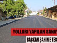 BAFRA SANAYİ ESNAFI BAŞKAN ŞAHİN'E TEŞEKKÜR ETTİ