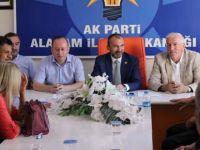 Milletvekili Orhan Kırcalı'dan Alaçama'a Ziyaret