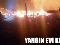 Dikmen'de Çıkan Yangın Güçlükle Söndürüldü