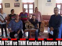 ROMAN TSM ve THM Koroları Konsere Hazırlanıyor