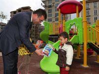 Atakum'da Parkta Çocuk Rekoru Kırıldı
