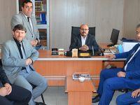 Başkan Topaloğlu Hacıları Ziyaret Etti