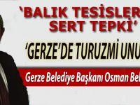 Balık Tesislerine Sert Tepki,Gerze'de Turizmi Unutun