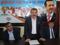 AK Parti Havza İlçe Teşkilatı Danışma Kurulu Yapıldı