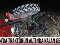 Alaçam'da Traktör Altında Kalan Genç Öldü