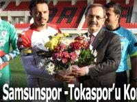 Bafra'da Samsunspor -Tokatspor'u Konuk Etti