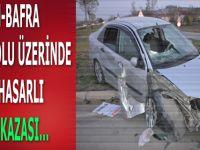 Alaçam-Bafra Kara-Yolunda Trafik Kazası