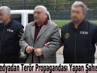 Sosyal Medyadan Terör Propagandası Yapan Şahıs Gözaltında