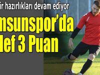 Samsunspor Eskişehir Maçına Hazırlanıyor