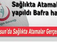 Samsun'da Sağlıkta Atamalar Gerçekleşti