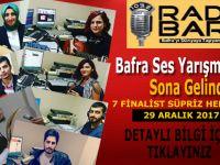 Bafra' Ses Yarışması'nda Sona Yaklaşılıyor