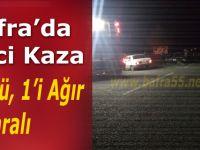 Bafra'da Feci Kaza:1 Ölü, 1'i Ağır 5 Yaralı
