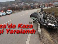 Havza'da Kaza 1 Kişi Yaralandı