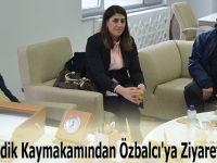 Ladik Kaymakamından Özbalcı'ya Ziyaret