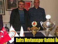 Bafra Mevlanaspor Kulübü Ödülünü Aldı