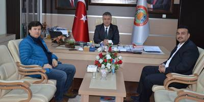 Kardeş Kal Türkiye Platformundan Başkan Topaloğlu'na Ziyaret