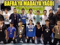 Bafralı Güreşçilerden Madalya Yağmuru