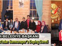 Sarıcaoğlu'ndan Samsunspor'a Doping Daveti