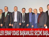 Bafra Kahveciler Esnaf Odası Başkanlığı Seçimi Başladı