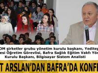 Bafra'da Büyük Konferans