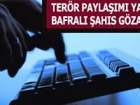 Bafra'da Terör Propagandası Yapan Şahıs Gözaltına Alındı