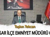 Bafralı Damat Niksar İlçe Emniyet Müdürlüğüne Atandı