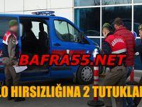 Bafra'da Kablo Hırsızı 2 Kişi Tutuklandı