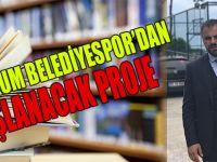 Atakum Belediyespor'dan anlamlı kampanya: '20 Ocak Samsunspor Kütüphaneleri'