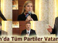 Atakum'da Tüm Partiler Vatan Dedi