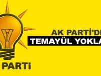Bafra AK Parti'de 19:00'da Temayül Yoklaması Var