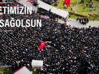 """ÖZBALCI, """"MİLLETİMİZİN BAŞI SAĞOLSUN"""""""