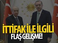 AK Parti-MHP ittifakında flash gelişme