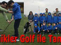 Minikler Golfle tanıştı