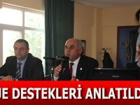 PROJE DESTEKLERİ ANLATILDI