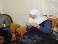Çağatay Kılıç Eşi Eda Kılıç Ile Şehit Ailesini Ziyaret Etti