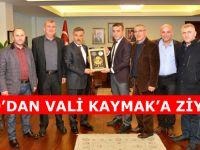 SMSO'DAN VALİ KAYMAK'A ZİYARET